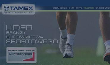 Referencje  Tamex Obiekty Sportowe S.A.